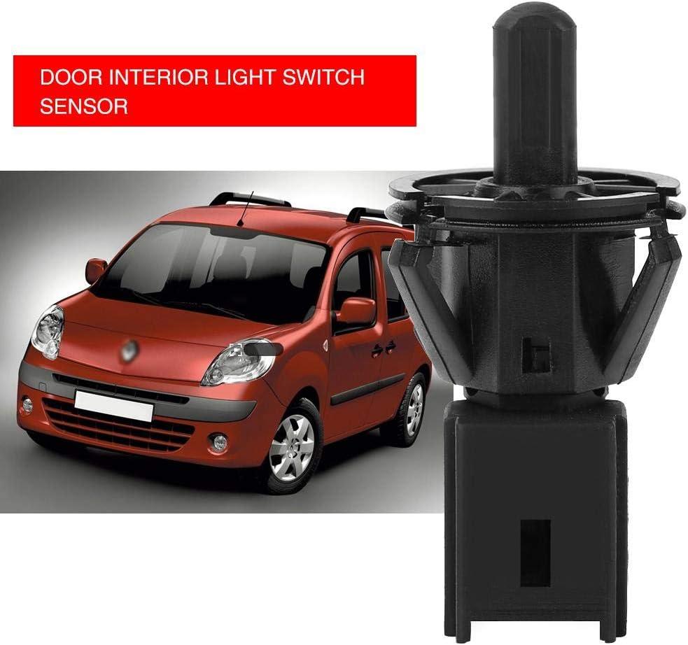 Autotür Innenlichtschalter Qiilu 7700427640 7700427639 Autotür Innenlichtschalter Sensor Auto
