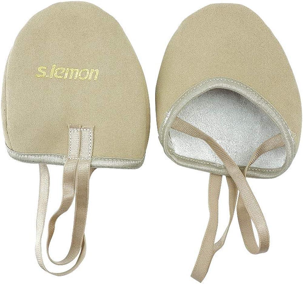 S.lemon Zapatillas Medias de Ballet Baile de Material Vegano Zapatos de Gimnasia Rítmica