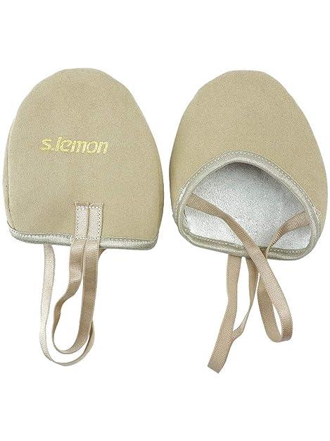 S.lemon Zapatillas Medias de Ballet Baile de Microfibra duraderas Zapatos de Gimnasia rítmica (