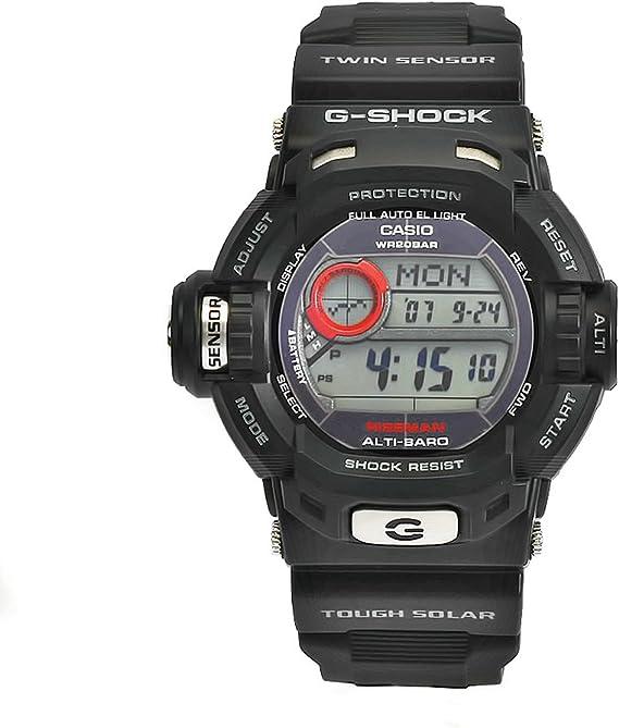 Casio Hommes G9200 1 G Shock Black Watch numérique résistant  Vwtmr