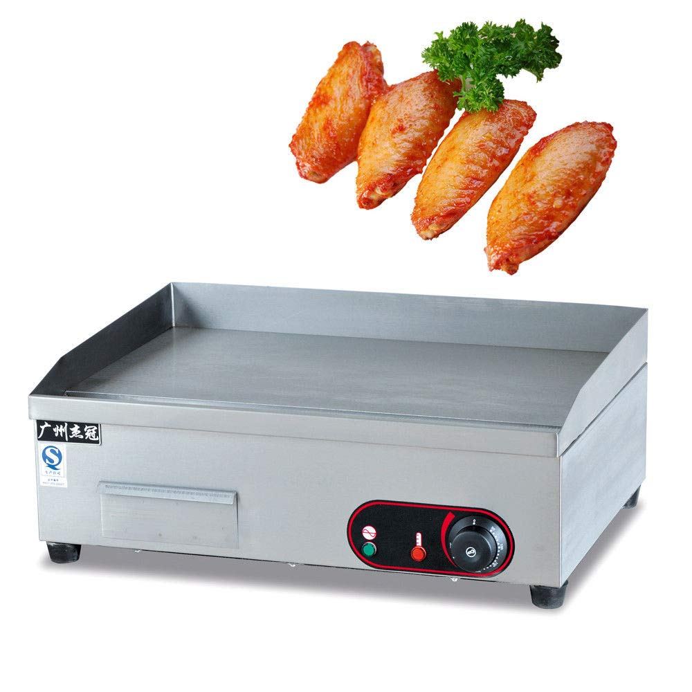 Amazon.com: 3000W Electric Griddle Flat Top Commercial Restaurant ...