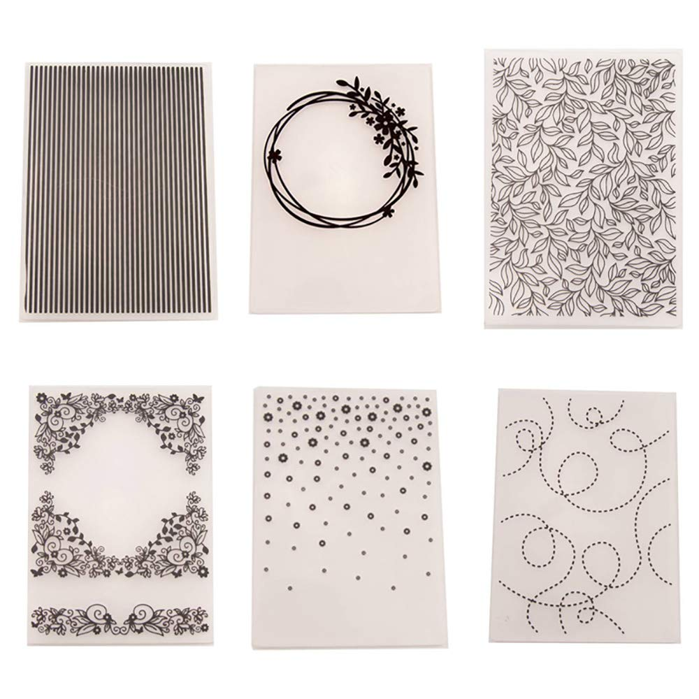 Happy Birthday Embossing Folder Transparent Seal Template Molds Tools DIY Handcraft Scrapbooking Stamp Photo Album Decor Embossing Folder Template