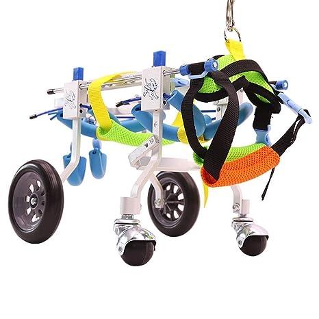 Lunyi Silla de ruedas para mascotas ajustable para ...