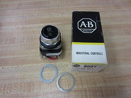 Amazon com: Allen Bradley 800T-QT10 PushButton 800TQT10