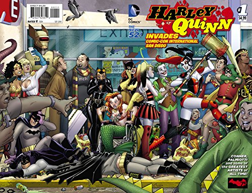 Harley Quinn Invades Comic Con International San Diego #1