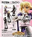 Capsule Q Fraulein Fate / zero figure anthology anime Kaiyodo (all five Furukonpu set)