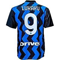 L.C. SPORT Camiseta del Inter Romelu Lukaku 9, réplica autorizada 2020-2021