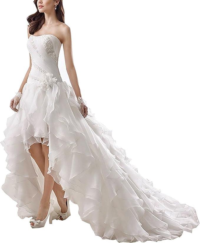 Eyekepper Doppelte Schulter Bodenlang Hochzeitskleid Groesse