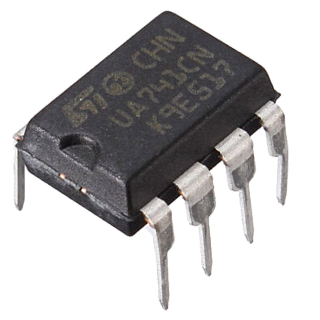 10pcs Ua741cn Dip 8 Ua741 Lm741 Operational Amplifiers Automatic Timer Switch With Electronic Projects Circuits Op Amp Ic Cell Phones Accessories
