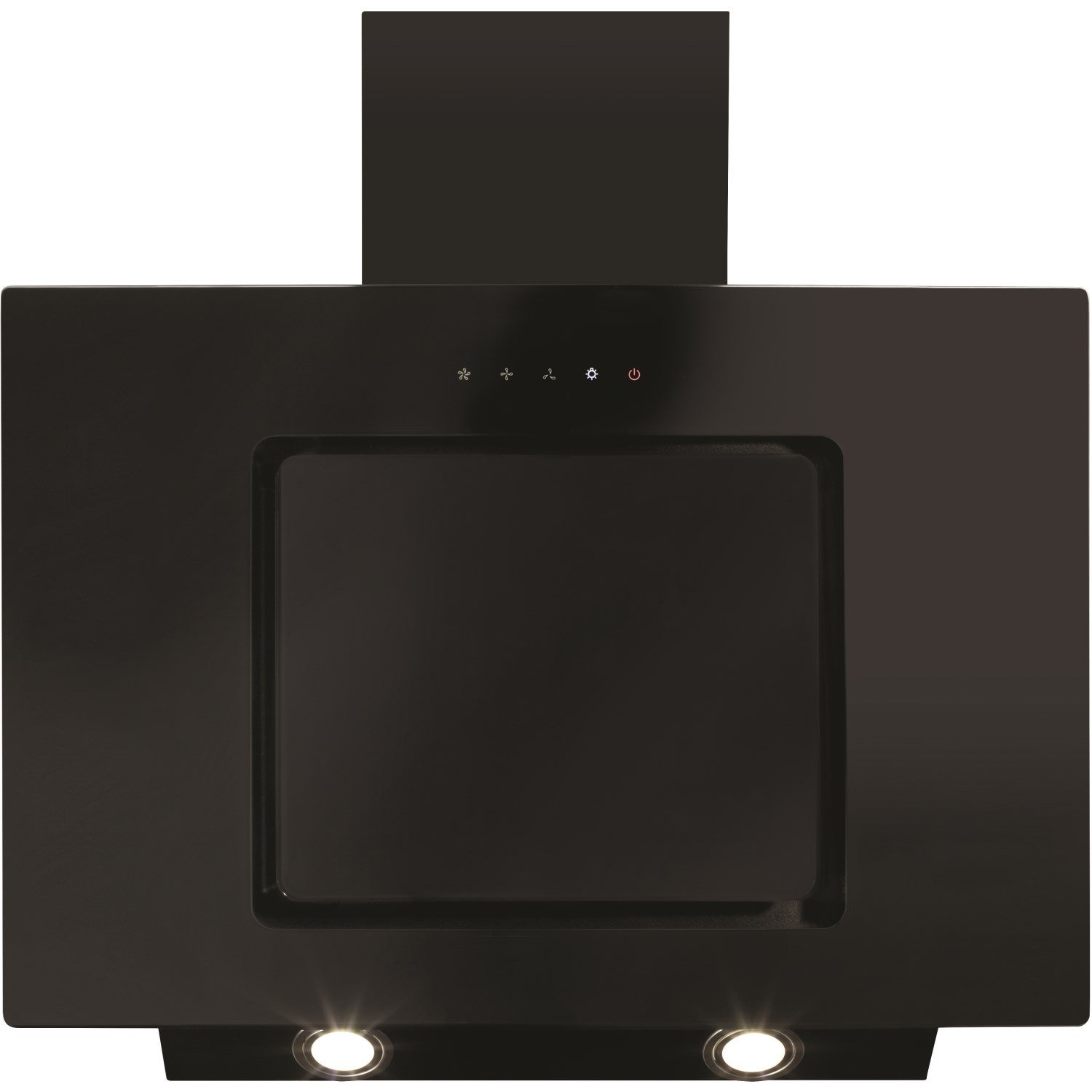 CDA EVA70BL Cooker Hood Chimney Extractor Angled 70cm Black