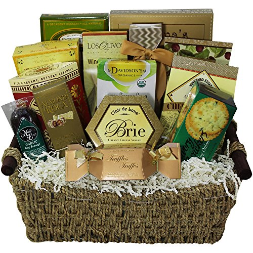 Abundant Blessings Gourmet Food Gift Basket (Gourmet Food Gifts Delivery)