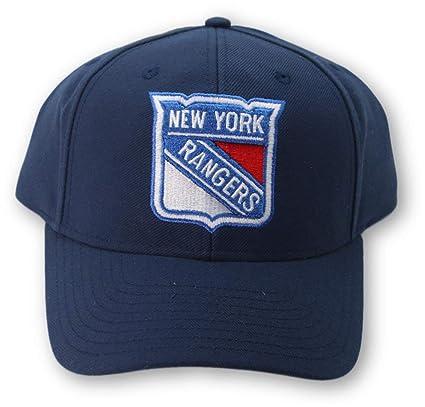 Reebok NY Rangers - Gorro Ajustable para Hombre, Color Azul