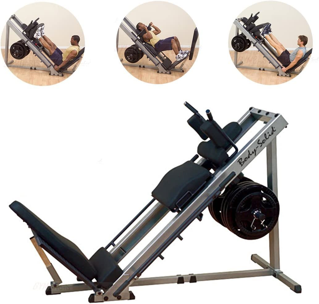 Body-Solid GLPH1100 Leg Press Hack Squat Machine