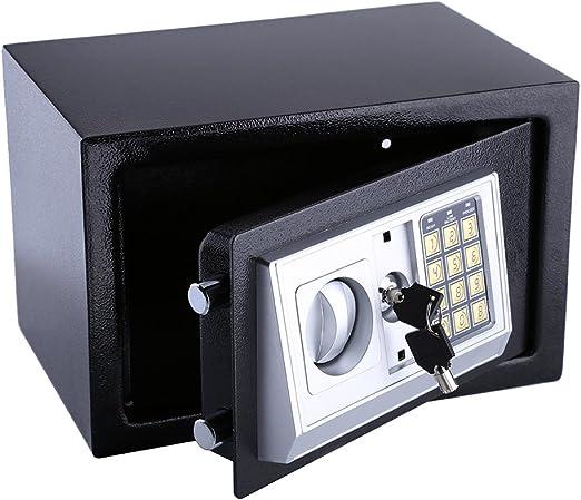 GOTOTOP 8.5L Caja Fuerte Digital Pequeña para casa,para Montaje en ...