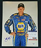 Michael Waltrip Signed Photo - Napa Car Raising 11x14 - PSA/DNA Certified - Autographed Photos