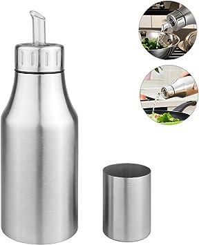 Edelstahl Ölflasche Öl /& Essig Spender Ölbehälter