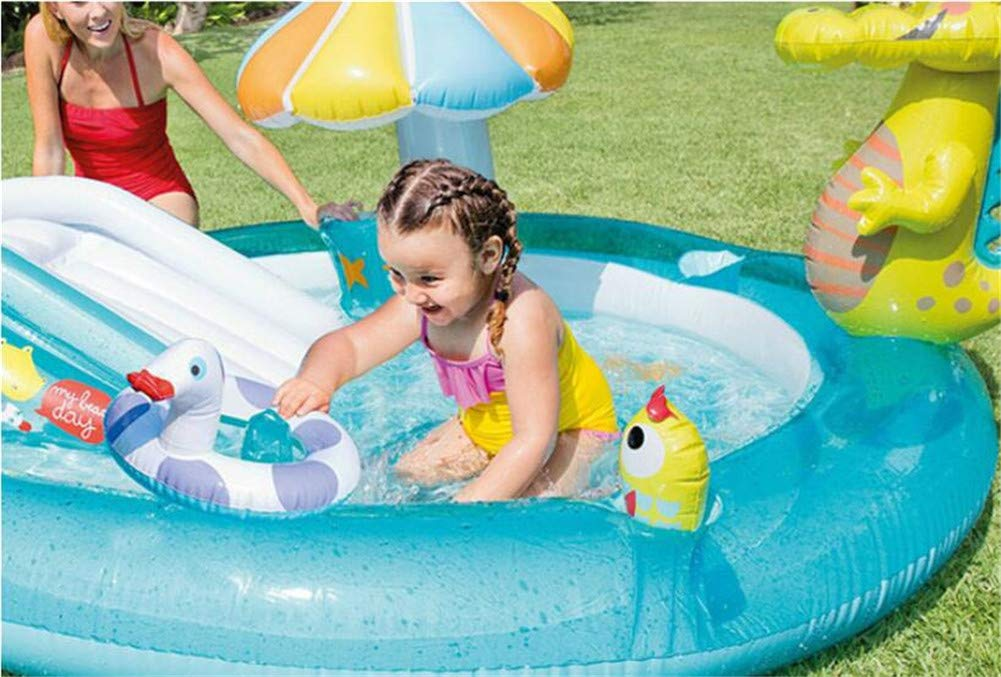 Whryspa Inflatable Swim Center Fun Baby Swimming Pool Toddler Water Spouts Slide Garden Leisure Pool 20317389Cm by Whryspa (Image #4)