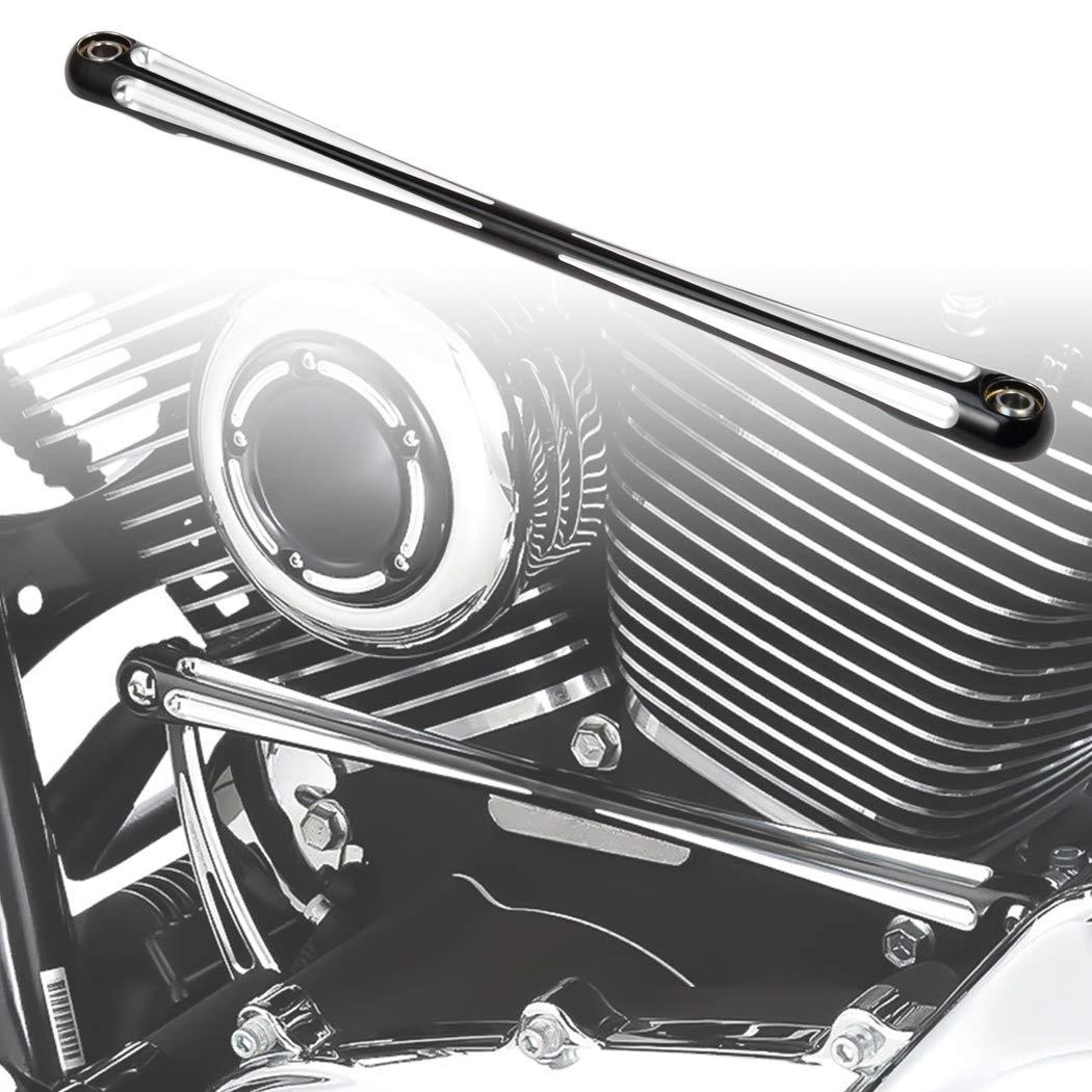 Benlari Black Gear Shift Linkage Compatible for Harley Davidson Touring Softail Dyna Trike Electra Street Road Glide 1986-2020
