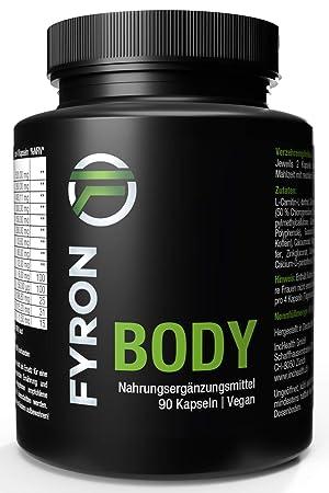 Fyron Body - Metabolismo, Energía & Digestión - Vegano sin aditivo