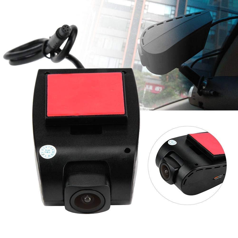 1080P HD c/ámara de coche DVR Dashboard 20FPS Mini c/ámara de coche DVR Grabadora de conducci/ón para Android Duokon Dash Cam