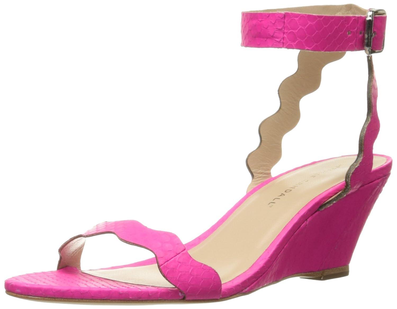 Loeffler Randall Women's Minnie-MSN Wedge Sandal B01AI018KM 7.5 B(M) US|Bright Fuchsia