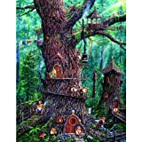 SUNSOUT INC Forest Gnomes Jigsaw Puzzle