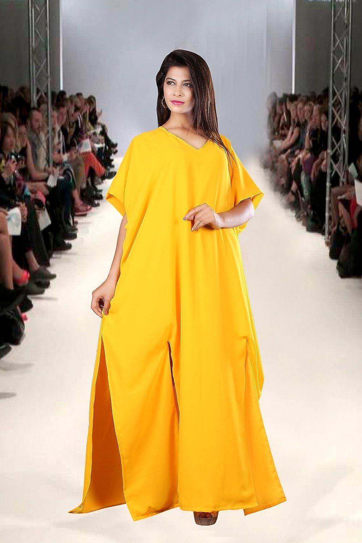 EXCLUSIVE DUBAI CAFTAN GEORGETTE ARABIAN JALABIYA FANCY WEDDING GOWN DRESS