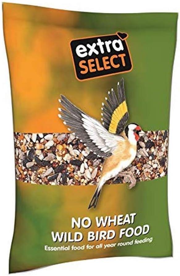Extra Select - Mezcla de pájaros Salvajes sin Trigo, 1 kg
