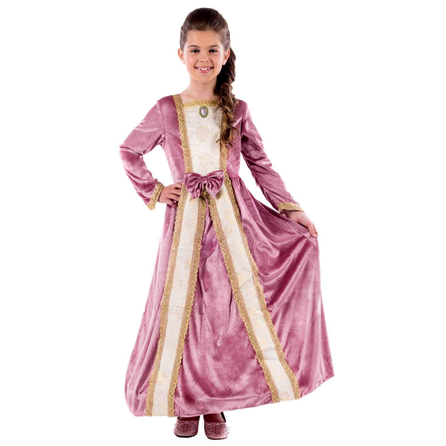 Fun Shack- Costume Disfraz, Color Princess Gown Pink, Medium (FNK4538M-US)