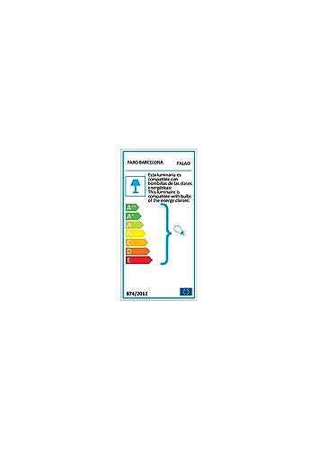 FARO BARCELONA 33186 - PALAO Ventilador de Techo con luz (Bombilla ...