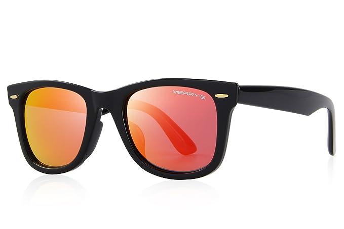 c07950d497 Image Unavailable. Image not available for. Colour  MERRY s Retro Rivet  Polarized Sunglasses ...