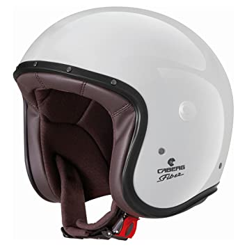Caberg Casco Jet Freeride, color blanco, talla XL