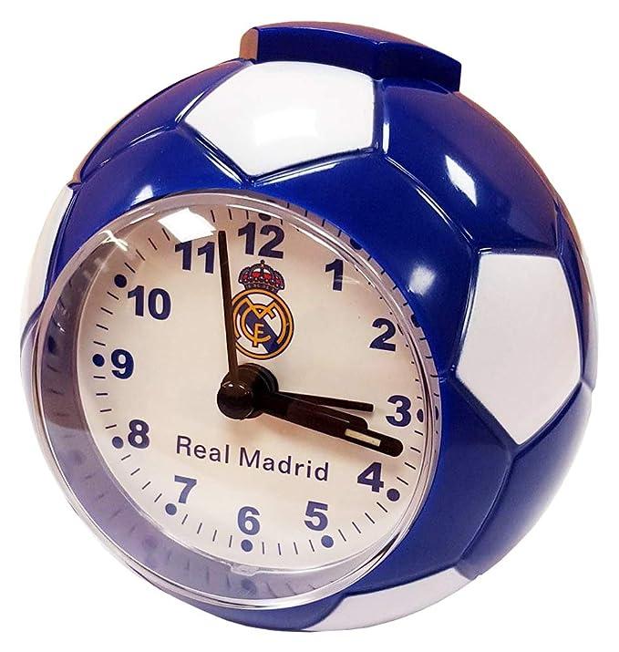 Seva Import Real Madrid 706017 Despertador Balón, Unisex, Azul ...