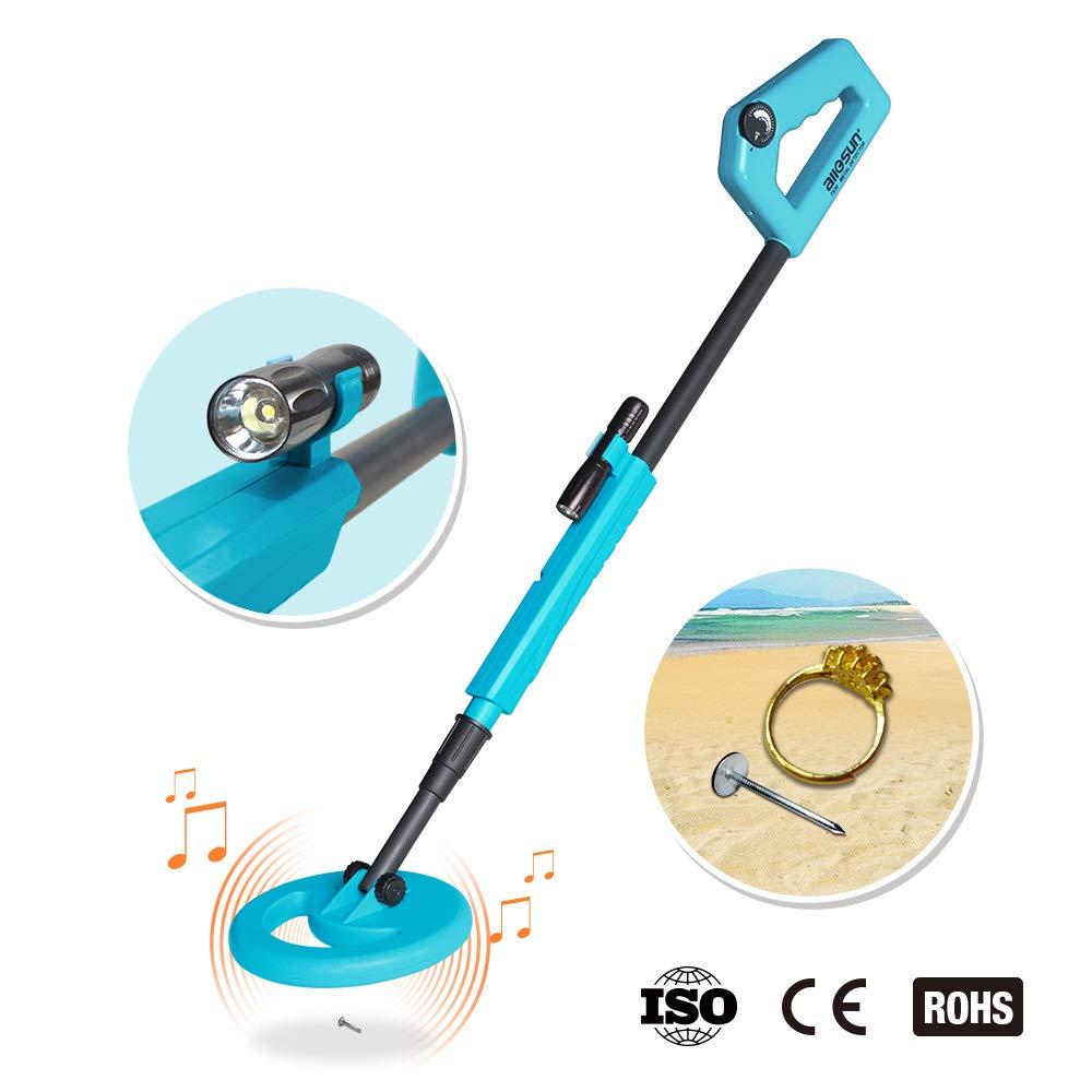 allsun Handheld Metal Detector for Junior Kids Education Exploration Toy Color Blue
