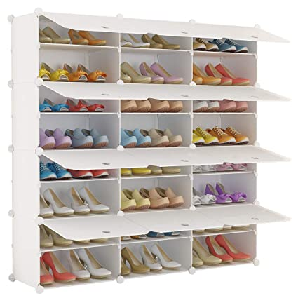 Living Room Furniture Home Furniture Open-Minded Three Layer Simple Shoe Rack Non-woven Shoe Shelf Multi-purpose Shoe Cabinet Shelves Storage Stand