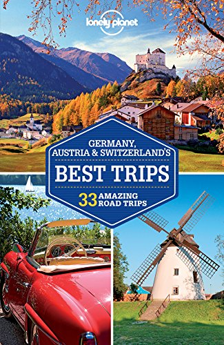 Geneva Map Switzerland Lake - Lonely Planet Germany, Austria & Switzerland's Best Trips (Travel Guide)