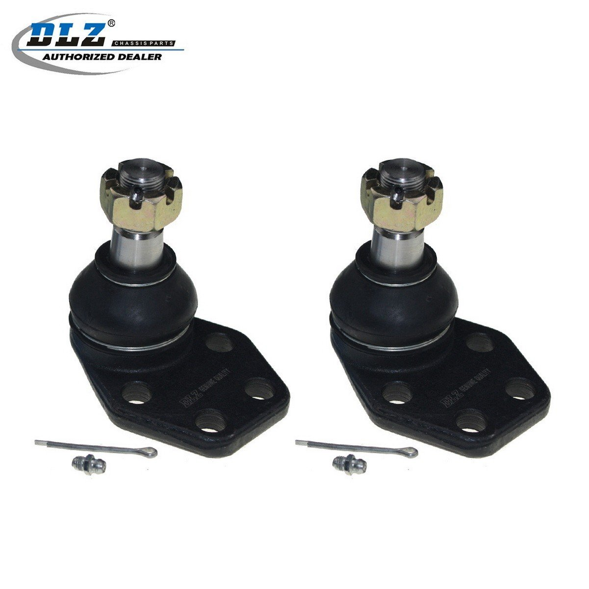 DLZ 2 Pcs Front Lower Ball Joint Compatible with 2000 2001 2002 Dodge Ram 2500 3500 RWD Partsgoing
