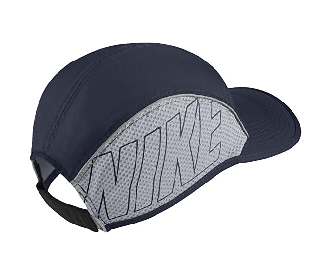3e63395c2f9106 Buy Nike Men's and Women's Aerobill Running Cap (Blue, Free Size) Online at  Low Prices in India - Amazon.in