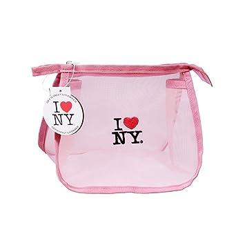 Amazon.com: Rosa/Grande/I Love Ny – Bolsa de malla para ...