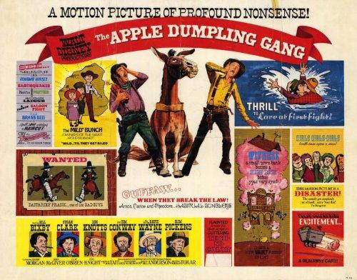The Apple Dumpling Gang Poster Movie 1975 Style A Bill Bixby Susan Clark Don Knotts Tim Conway David Wayne Slim Pickens Harry Henry Morgan