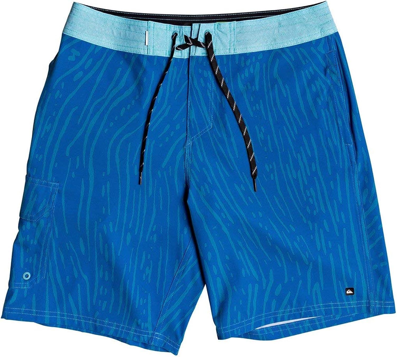 Quiksilver Waterman Angler Ripples Beachshort 20/'/' Klassisch Blau 2020 Kostüm
