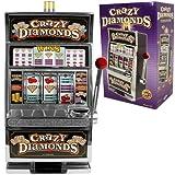 RecZone Crazy Diamonds Slot Machine Bank