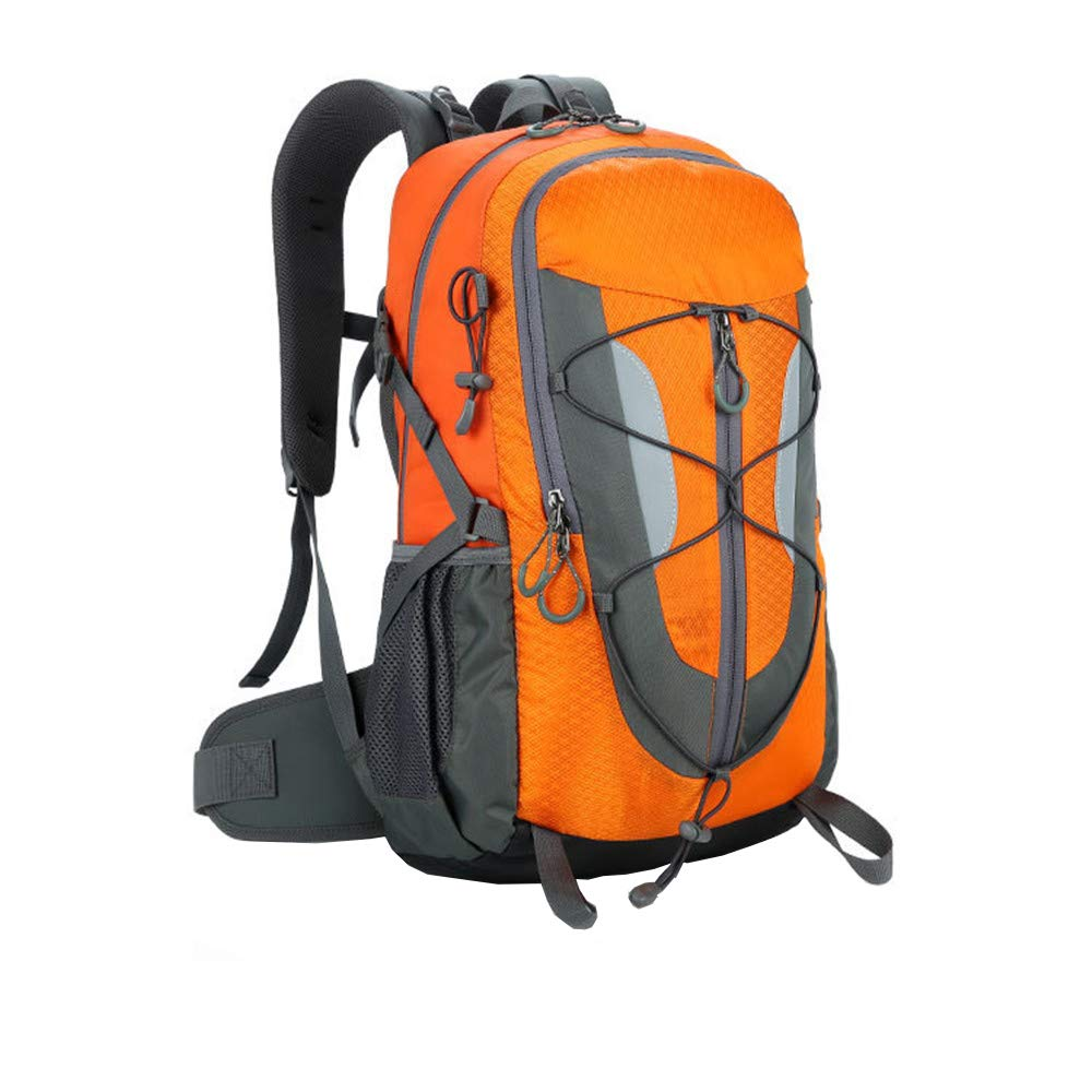 orange Hiking Bag  Lightweight Foldable Travel & Hiking Backpack Daypack Bag  Outdoor Casual Daypacks  Waterproof Nylon Great for Hunting Hiking Camping Travelling,Black