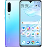 "Huawei P30 128GB+6GB RAM (ELE-L29) 6.1"" LTE Factory Unlocked GSM Smartphone (International Version) - Breathing Crystal"