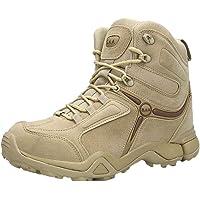 Logobeing Zapatilla Hombre Aire Libre y Deporte Botas de Senderismo Botines Tácticas Zapatos de Deportivos Botas de…