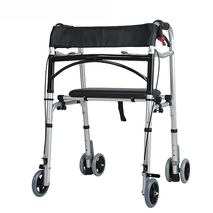 MEI Walker Old Man, Discapacidad, 4 Frenos de Rueda, muletas ...