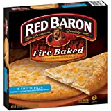 RED BARON PIZZA FIRE BAKED 4 CHEESE 19.79 OZ PACK OF 2