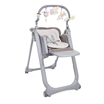 Chicco Chaise Haute Bb Polly Magic Relax 4 Roues Cocoa