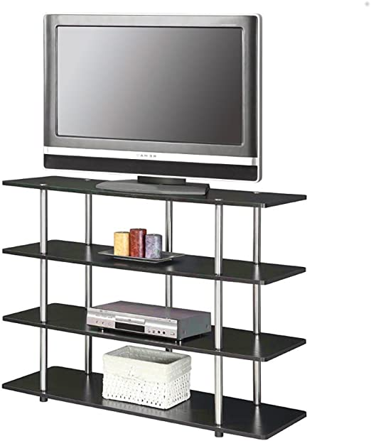 AMGS 24 Pulgadas TV Soporte Inteligente Grande Moderno Oficina Muebles de Acero Inoxidable para Sala de Estar Samsung 4k Dormitorio & e-Book por AmglobalSupplies: Amazon.es: Juguetes y juegos