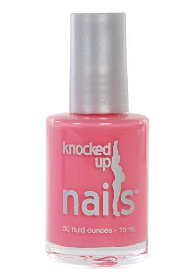 Coral Cutie Knocked Up Nails Maternity Pregnancy Safe Nail Polish Vegan Gluten Free 5 Free